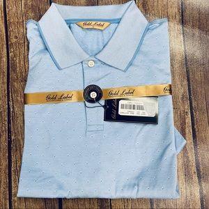 NWT Roundtree & Yorke Blue Polo Shirt